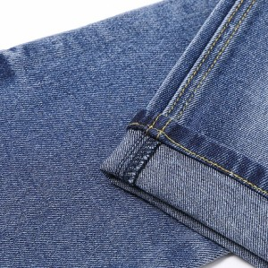 China wholesales high stretch cotton polyester denim fabric for jeans