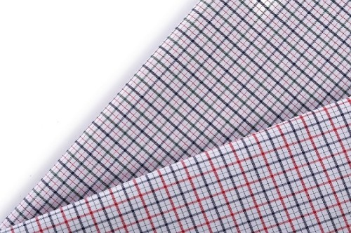 Factory direct sales soft breathable check 100 cotton fabric wholesale