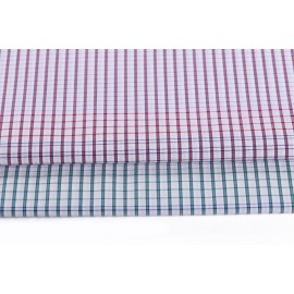 Factory price various size 100% cotton plaid thermal fabric for clothes
