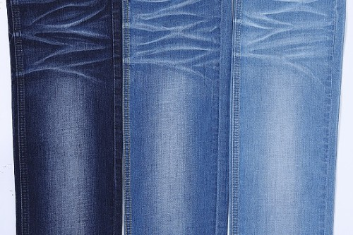 Bulk stock comfortable high-stretch fabric for jeans