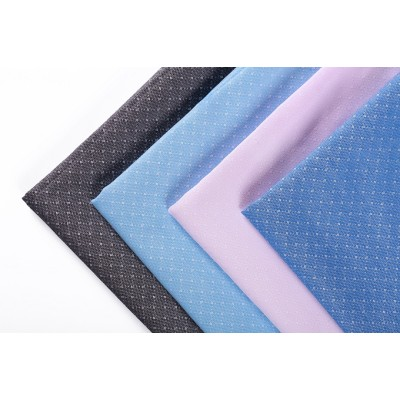 Quality assurance Guangzhou new design women rayon thin polyester fabric for dress