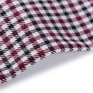 Wholesale custom woven plain poplin 100 cotton fabric material textile