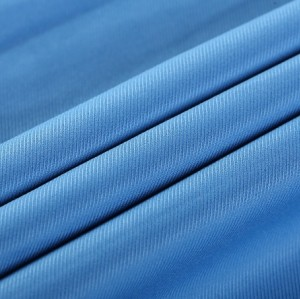 Guangzhou Customized elastic for swimsuits navy blue polyester fabric specification