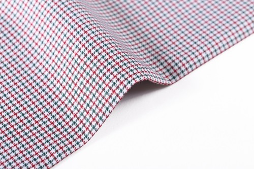High density soft yarn dyed woven plaid fabric hot sale custom pure cotton fabric for shirt