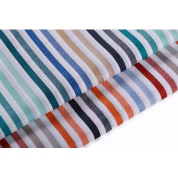 Custom design soft comfortable 100% cotton herringbone twill fabric