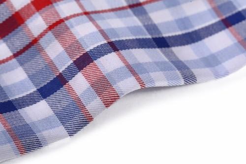 New fashion shirting yarn dyed stocklot density 100 cotton textile and fabrics