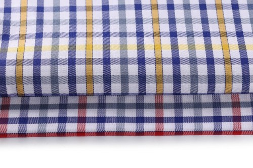 Green material new arrivals men 100% cotton shirt fabric