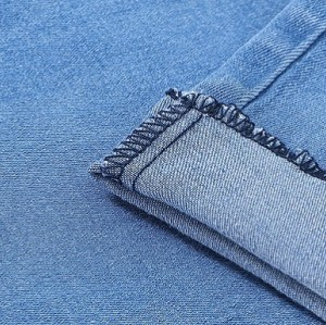 Hot sales good quality cozy breathable elastane denim fabric for jeans