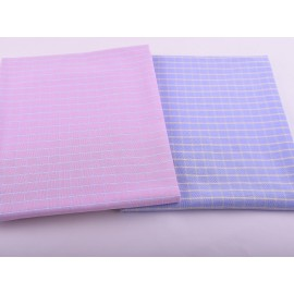 High Density Fashion Checked Shirting Woven Fabrics Wholesale Custom 100 Cotton Shirts Fabric
