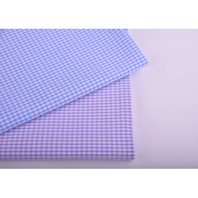 Manufacturer produce wholesale 100% cotton plaid shirt cheap fabric from china