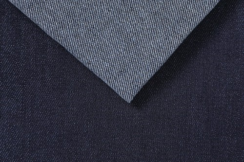 Hot fashionable newest blue stretch denim fabric for jeans
