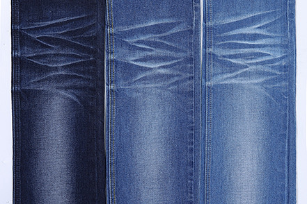 China manufacture good quality comfortable stock denim fabric for jeans