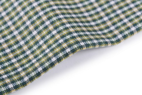 Green material high grade soft breathable textile fabric printing for shirts