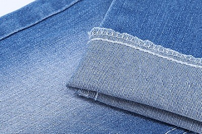 Factory price fast delivery blue stock denim fabric for jeans
