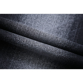 Bulk stock comfortable fashionable stretch woven black denim fabric for jeans