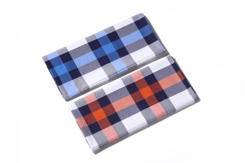 Factory sale new design woven shirt 100% cotton yarn dyed plaid fabric
