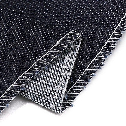 Eco-friendly cotton polyester stretchable good quality woven denim fabric for jeans
