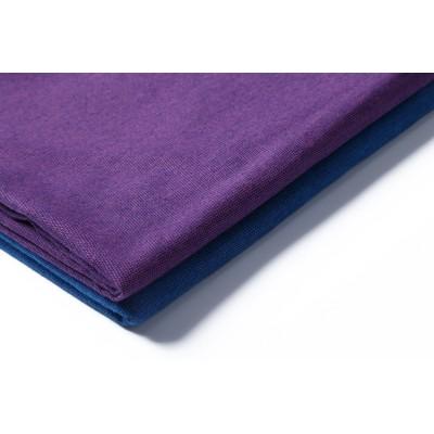 High quality fashion plain shirt woven fabrics wholesale custom mercerizing 100 cotton fabric