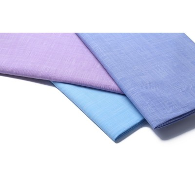 New design fashion shirt woven fabrics textile high quality custom 100% cotton fabric