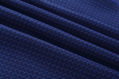 New design hot sale comfortable 100% cotton floral jacquard fabric