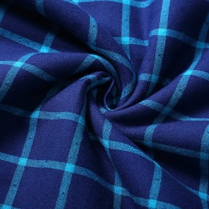Fashion Stock 100% Cotton Shirts Garment Fabrics For Sale