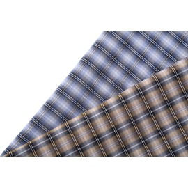 High quality custom plaid shirting woven textile fabric stocklot new style fashion 100% cotton fabric for shirt