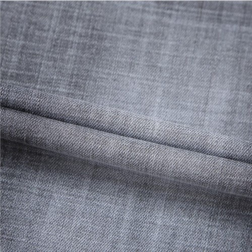 Wholesale custom cotton polyester breathable soft denim fabric for jeans