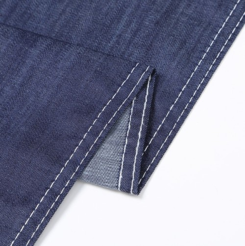 Wholesale cotton polyester breathable soft denim fabric for jeans