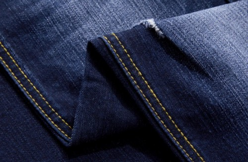 Custom high quality jeans soft denim fabric