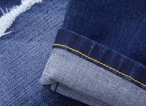 Custom high quality jeans soft poly denim fabric