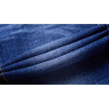 Fashion wholesale breathable denim fabric with elastane