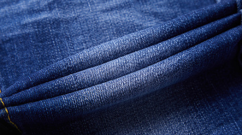 Fashion wholesale breathable denim fabric with elastane