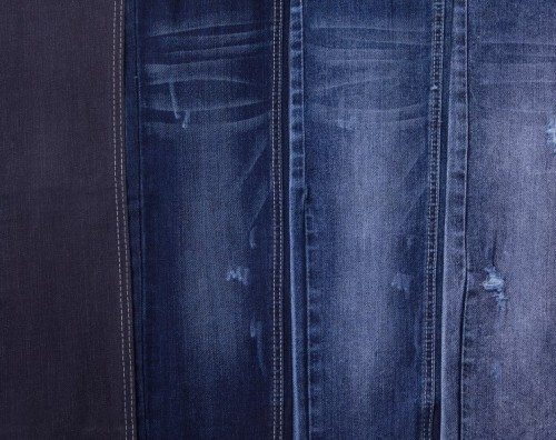 Factory custom design newest soft breathable spandex denim fabric