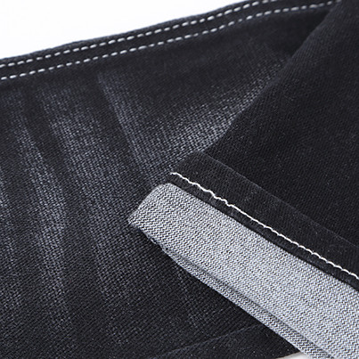 Wholesale customized fashion woven breathable soft denim jeans fabric