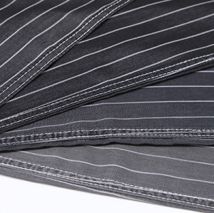 Customized fashion woven breathable soft 100% denim jeans fabric