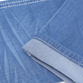 Newest design fashion high quality breathable 100% cotton denim fabric