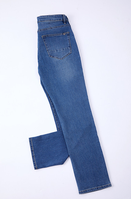 Fashion Cotton polyester spandex fabric denim with stretch in stock