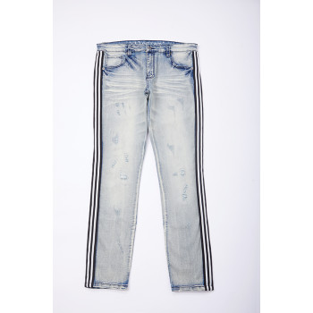 Hot sales high qualitybreathable elastane denim fabric for jeans