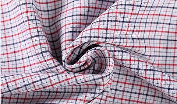 Wholesale custom checked colour stretch shirt cotton textile cotton printed fabric