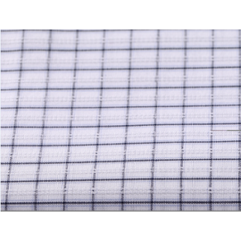 High density 50s yarn dyed 100% cotton fabric roll wholesale custom plaid shirting cotton fabric