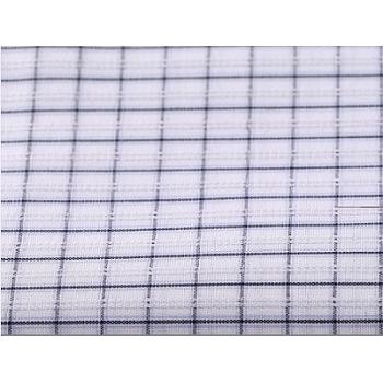 High density 50s yarn dyed 100% cotton fabric roll wholesale custom plaid shirting cotton fabric