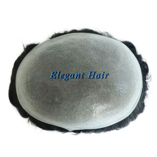 Indian Remy Hair System With Natural Hairline
