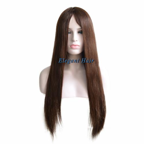 Brazilian virgin hair full silk top wig