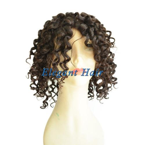 Full silk top swiss lace human hair wig
