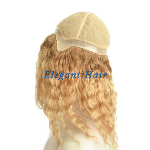 Brazilian virgin hair full silk top wig