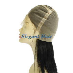 100%human hair full swiss lace wig