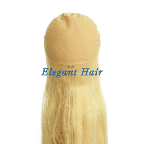 100%human hair full swiss lace silk top wig