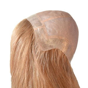 Top quality handmade Fine mono lace front hair wigs for women