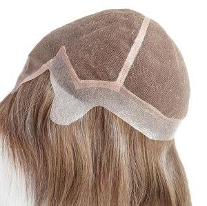 Brazilian Virgin Hair Full Swiss Lace Women Wig