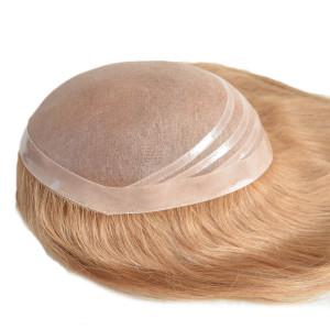 All Swiss Lace Women Hair Toupee